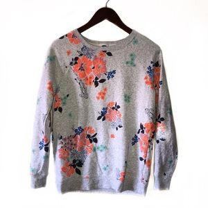 3/$20 💜 Old Navy Floral print pullover sweatshirt